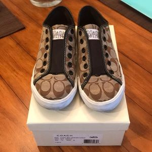 Coach Slip On Sneakers - Size 7.5